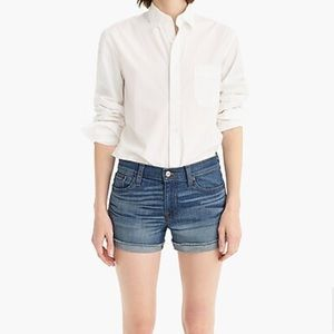 J. Crew Denim Short in Merrill Wash Size 6